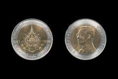 Монетка Таиланда Стоковая Фотография RF