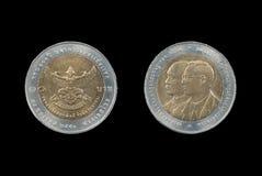 Монетка Таиланда Стоковое фото RF