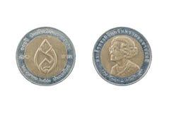 Монетка Таиланда Стоковое Изображение