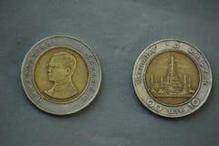 Монетка Таиланд Стоковые Изображения RF