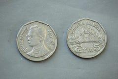Монетка Таиланд Стоковое Изображение