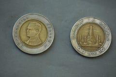 Монетка Таиланд Стоковая Фотография RF