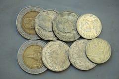 Монетка Таиланд Стоковые Изображения
