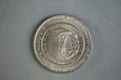 Монетка Таиланд Стоковое Изображение RF