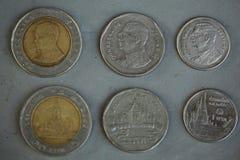 Монетка Таиланд Стоковое фото RF