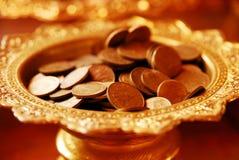 монетка тайская Стоковые Фотографии RF