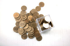 монетка тайского бата 2 Стоковое фото RF