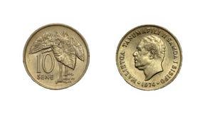 Монетка Фиджи Стоковые Фото