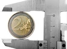 монетка 2 новая Стоковая Фотография