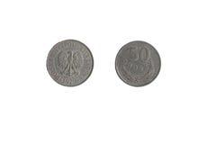 Монетка 50 Croszy Стоковое Изображение