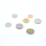 Монетки бата Таиланда Стоковые Фото