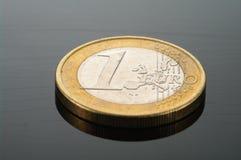 Монетки евро Стоковые Фотографии RF
