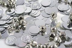 монетки колоколов Стоковые Изображения