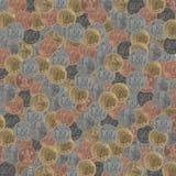 Монетки корейца текстуры Стоковые Изображения RF