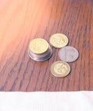 Монетки малайзийского ринггита Стоковые Изображения