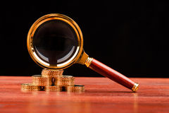 Принципиальная схема денег Стоковые Фотографии RF