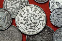Монетки Непала Стоковое Фото