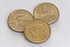 Монетки одного грека драхмы Стоковое Изображение RF