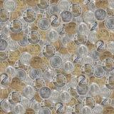 монетки полируют текстуру Стоковые Изображения RF