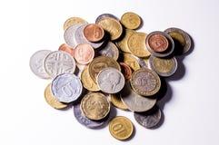 Монетки по всему миру Стоковые Фото