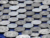 монетки предпосылки Стоковое Изображение RF
