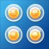 Монетки пузыря бесплатная иллюстрация