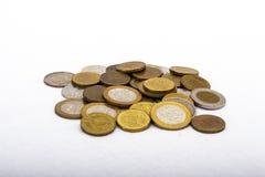 Монетки Российской Федерации Стоковые Фотографии RF