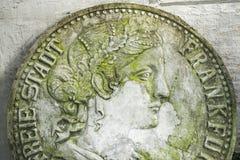 Монетки скульптуры Стоковое фото RF