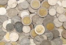 Монетки тайского бата Стоковые Фотографии RF