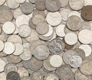 Монетки тайского бата Стоковое Изображение
