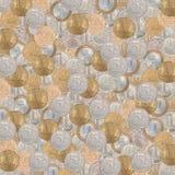 Монетки текстуры установленные русские Стоковые Фотографии RF