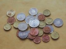 Монетки шведских кронов, Швеция Стоковые Фотографии RF