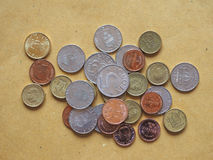 Монетки шведских кронов, Швеция Стоковое Изображение RF