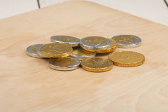 Монетки шоколада стоковое фото