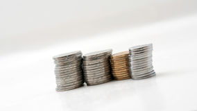 монетки Стоковые Изображения RF