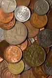 монетки Стоковая Фотография