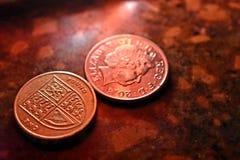Монетки Aold стоковые изображения