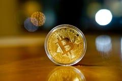 Монетки Bitcoin Стоковое Фото