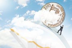 Монетная концепция Стоковые Фото