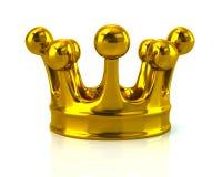 монетное золото pearls красные рубины Стоковые Изображения