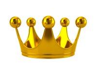 монетное золото pearls красные рубины Стоковые Изображения RF