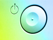монитор кнопки стоковые изображения