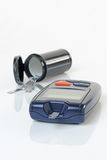 Монитор крови диабета стоковые изображения rf