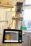 Монитор показателей жизненно важных функций Стоковые Фотографии RF