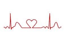 монитор сердца Стоковое Изображение