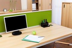 монитор стола Стоковые Изображения RF