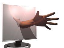 монитор иллюстрация вектора