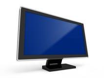 Монитор LCD компьютера иллюстрация вектора