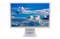 монитор lcd компьютера Стоковая Фотография