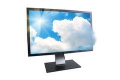 Монитор LCD Стоковые Фото